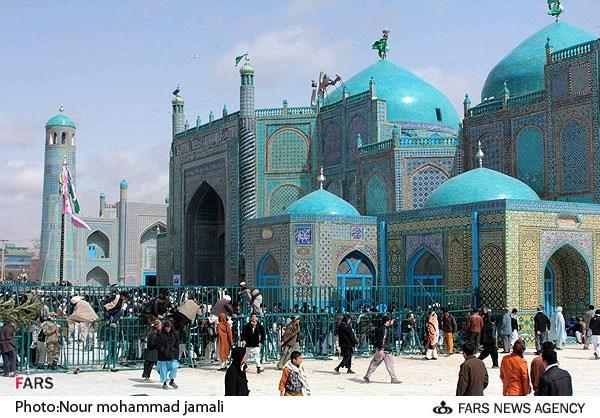 مزارشریف در افغانستان